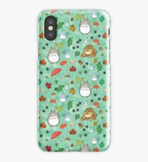 My Neighbour in mint iPhone Case