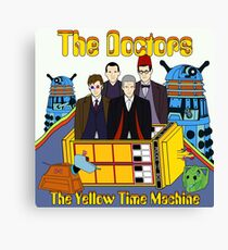 The Yellow Time Machine Canvas Print