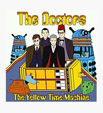 The Yellow Time Machine Photographic Print