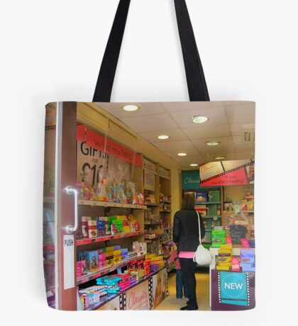 And lead us not into temptation...!!! Tote Bag