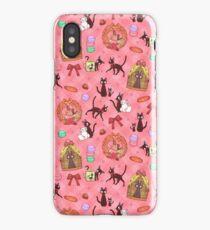 Kiki in pink iPhone Case