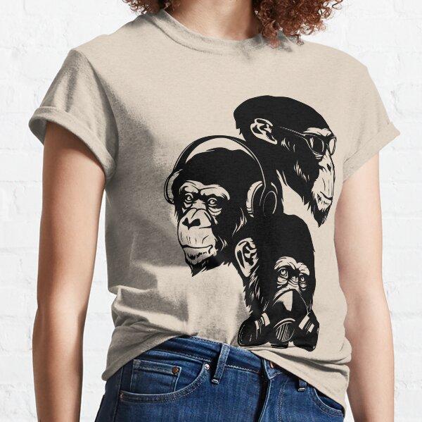 Three Monkeys Classic T-Shirt