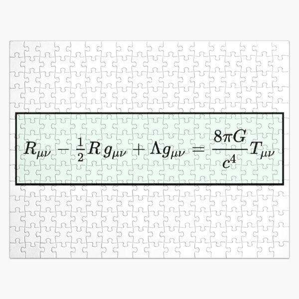 Einstein Field Equations  Jigsaw Puzzle