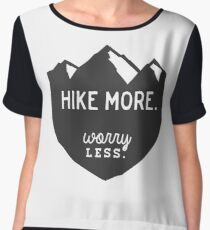 Hike More Art Chiffon Top