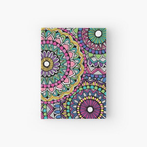 Bright Coloured Mandala Hardcover Journal