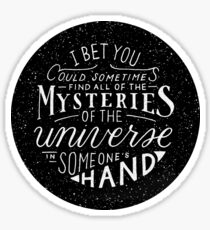 All of the Mysteries of the Universe Sticker