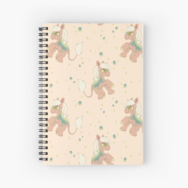 Little Kirin Pony (Spring) Spiral Notebook