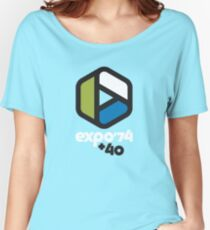 Expo '74 + 40 Women's Relaxed Fit T-Shirt