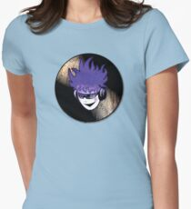 Punk Rock Vinyl Record -  MUSIC! Women's Fitted T-Shirt