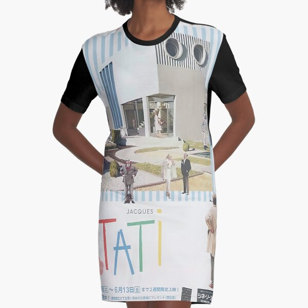Jacques Tati Film -   Graphic T-Shirt Dress