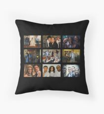 """Psych """"in Character"""" Collage Throw Pillow"""