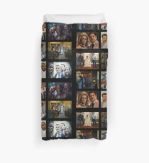 "Psych ""in Character"" Collage Duvet Cover"