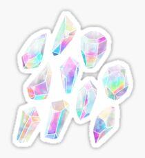 Aura Polygons Sticker