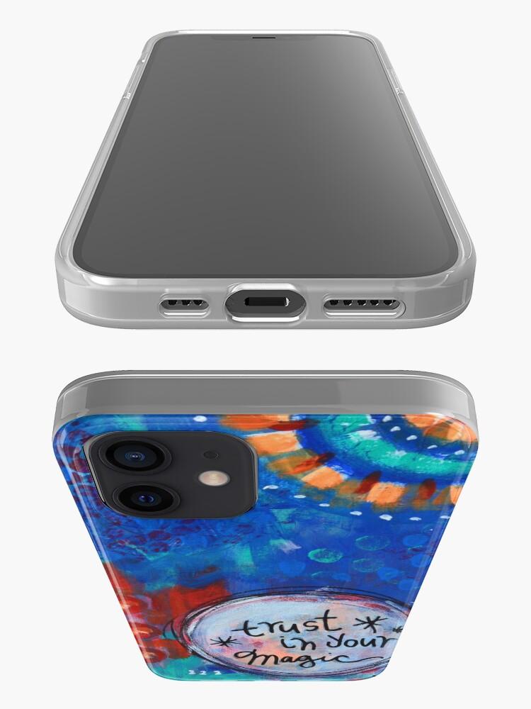 Vista alternativa de Funda y vinilo para iPhone Confía en tu magia
