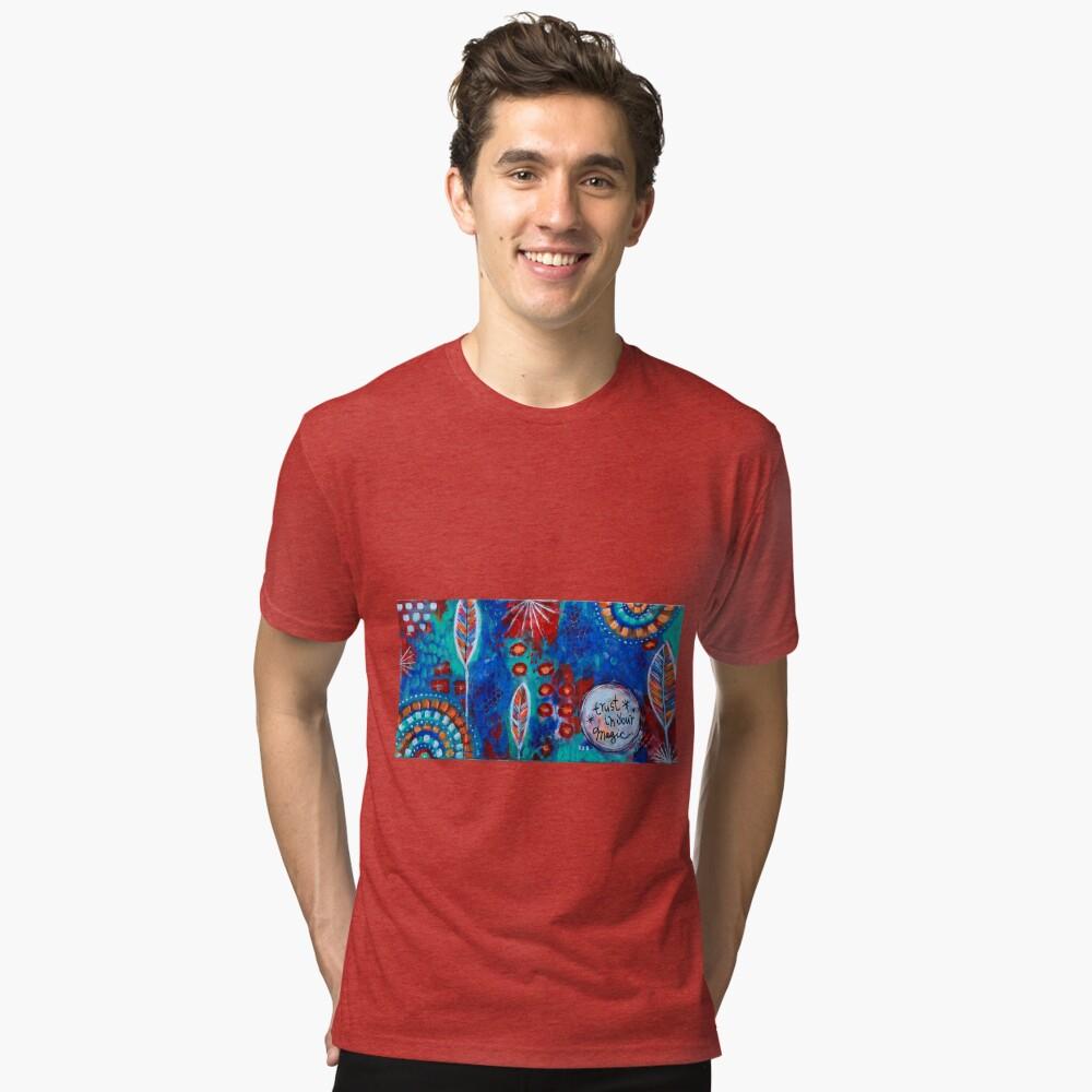 Confía en tu magia Camiseta de tejido mixto