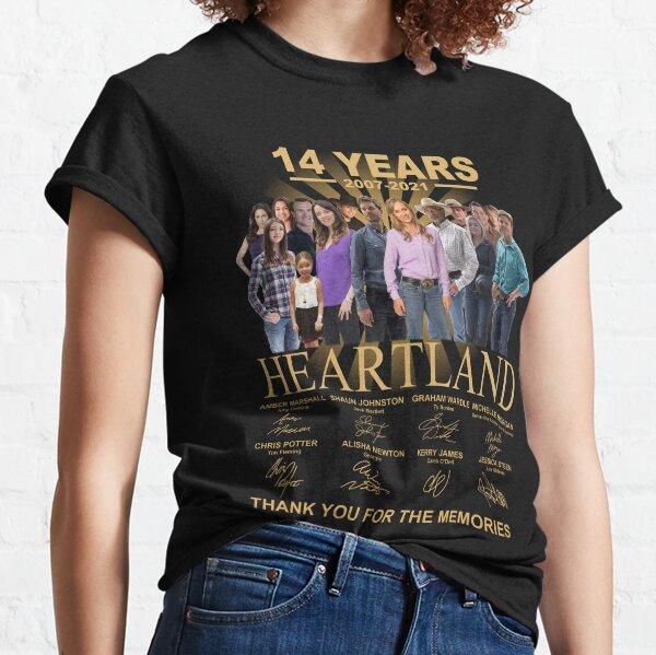 Heartland 14 ° aniversario 2007 2021 Camiseta clásica