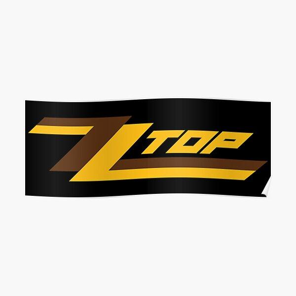 ZZ Top band logo Poster