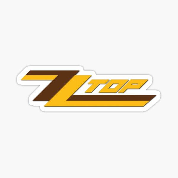 ZZ Top band logo Sticker