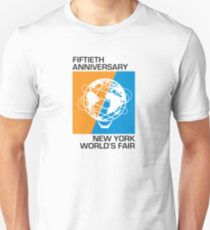 New York World's Fair - Fiftieth Anniversary Unisex T-Shirt