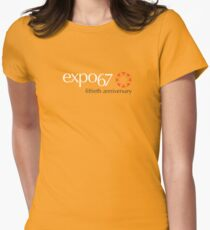 Expo '67 - Fiftieth Anniversary Women's Fitted T-Shirt