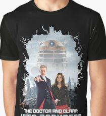 The Doctor and Clara: Into Darkness Graphic T-Shirt