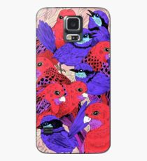 Wrens and Rosellas Delight! Case/Skin for Samsung Galaxy