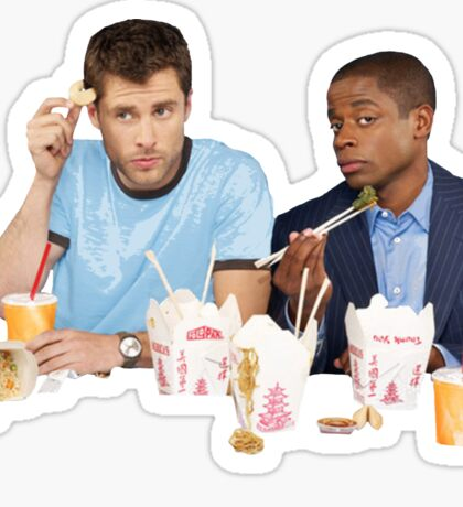 Shawn & Gus + Chinese Food Sticker