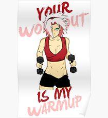 workout warmup Poster