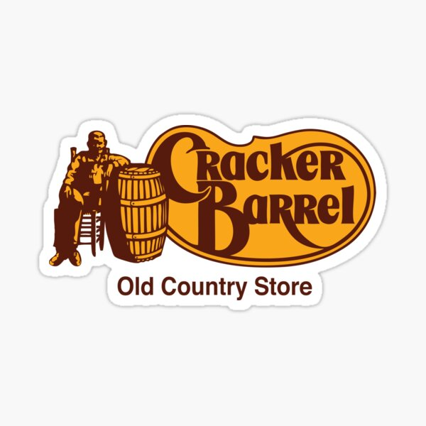Cracker Barrel Resto Sticker