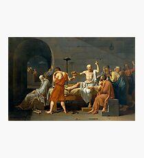 Death of Socrates  Photographic Print
