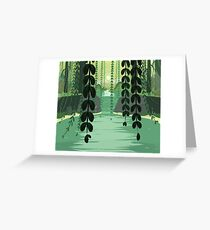 Misty Marsh Greeting Card