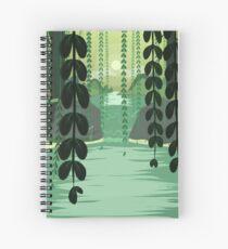 Misty Marsh Spiral Notebook