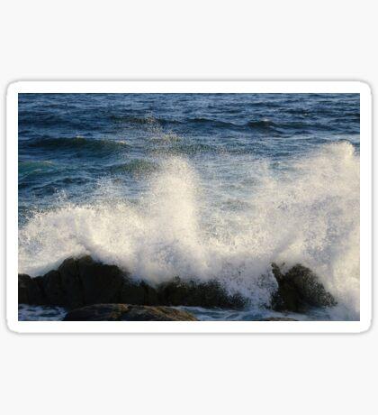 Crushing waves Sticker