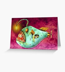 Daruma Travels Greeting Card