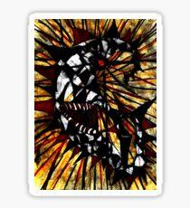 lunatic lunacy 2 Sticker