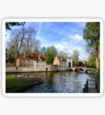 Beguinage (Begijnhof), Bruges Sticker