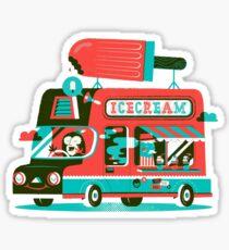Ice-cream Truck Sticker