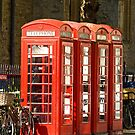 Red Phone Boxes by Kawka