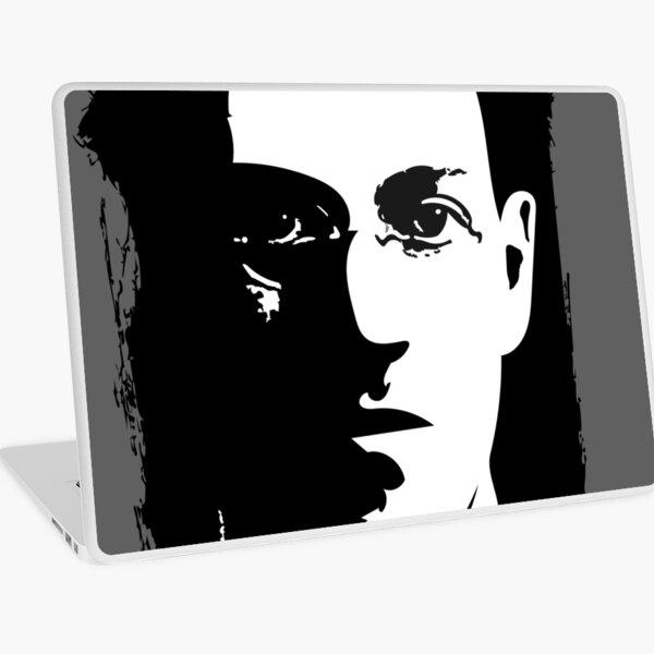 HP Lovecraft Splatter background Laptop Skin