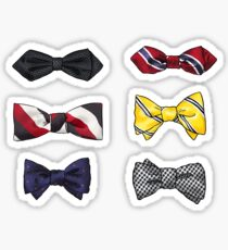Blaine's Bow ties I. Sticker