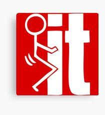 F# IT Canvas Print