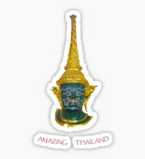 Thai Mask tee Sticker