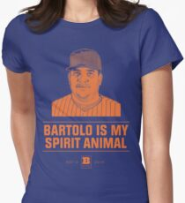 Bartolo Is My Spirit Animal Women's Fitted T-Shirt