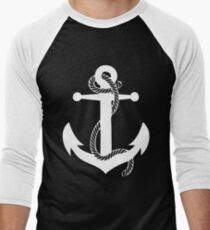 Anchor Retro Sailor Men's Baseball ¾ T-Shirt