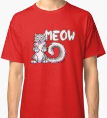 Snow leopard meow Classic T-Shirt