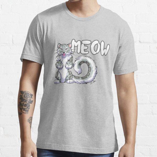 Snow leopard meow Essential T-Shirt