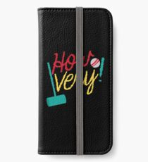 How VERY! with croquet mallet and ball iPhone Wallet/Case/Skin