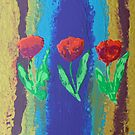 Tulipmania acrylic artwork by ashroc