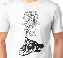 Dire Wolf - Ghost Unisex T-Shirt
