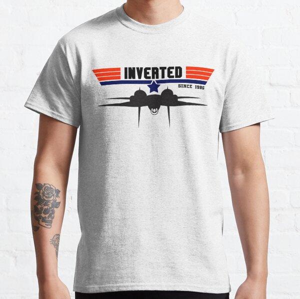 Top Gun - Inverted Since 1986 F14 Tomcat Classic T-Shirt